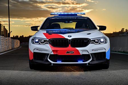 服务车BMW M5 MotoGP安全车,2018年