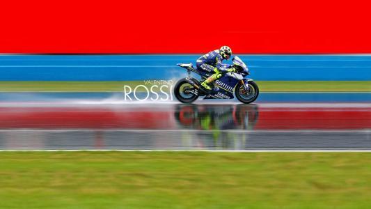 摩托车赛车手瓦伦蒂诺·罗西