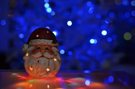圣诞老人蜡烛