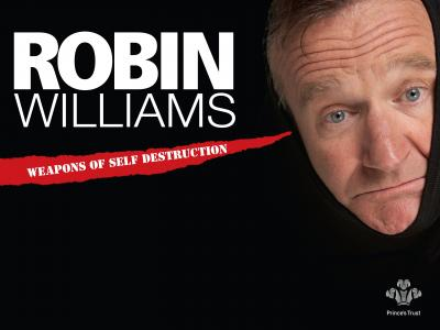 与演员罗宾·威廉姆斯的海报