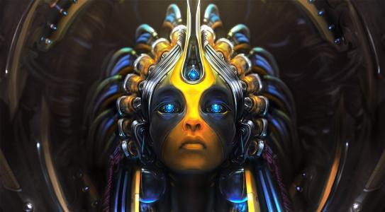 女神的蓝眼睛