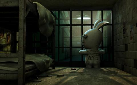 野兔斯科菲尔德 - 逃离洞穴