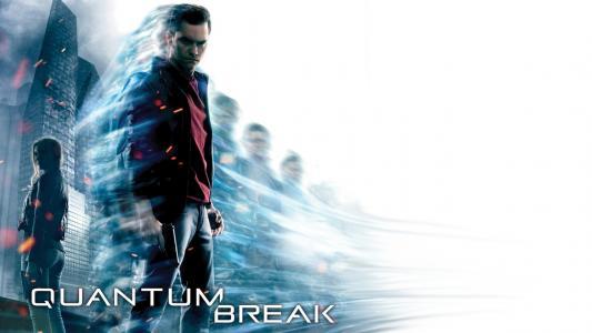 流行的游戏Quantum Break的海报