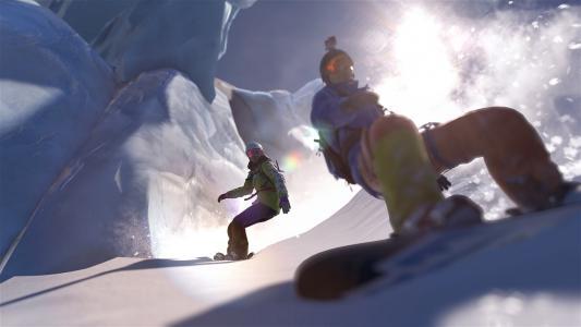 极限运动之高山滑雪
