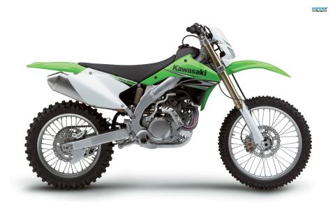 令人难以置信的摩托车川崎KLX 450 R
