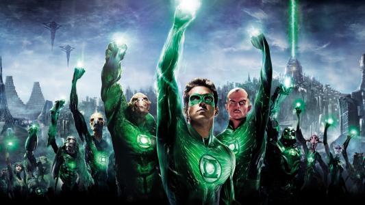 电影的绿色灯笼英雄
