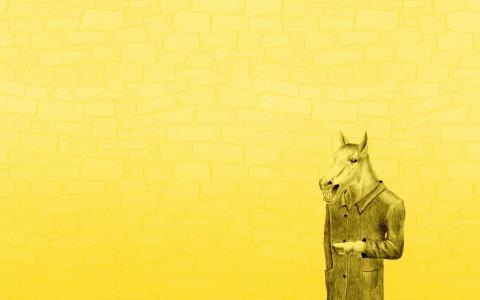 一件外套的马