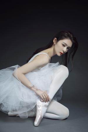 清纯女神傅菁舞蹈惊艳写真
