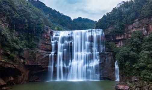 贵州赤水大瀑布风光摄影
