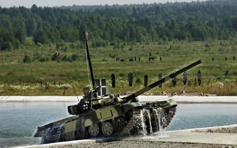 坦克T90的范围内