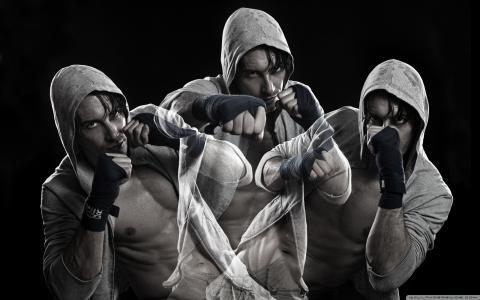 搏击俱乐部,拳击手,运动