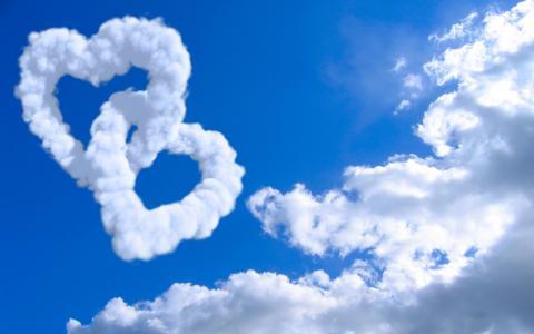 情人节那天的云
