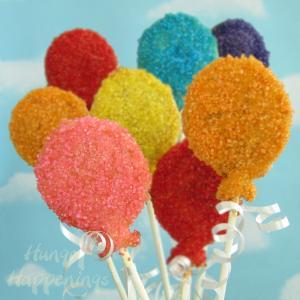 多彩多姿的棒棒糖生日