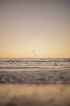 唯美海上景色微信背景