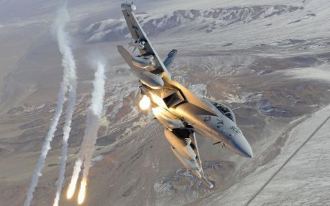军用飞机F-18