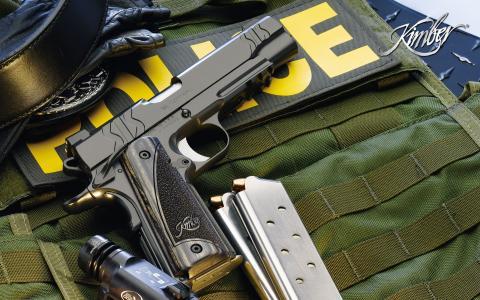 警察民兵武器
