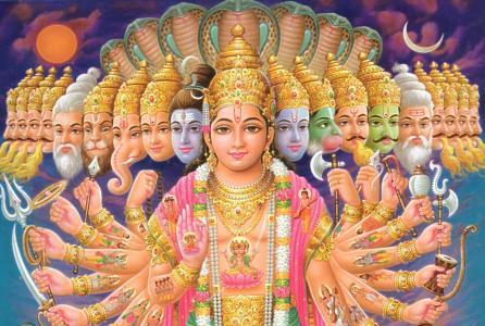 多武装的印度女神