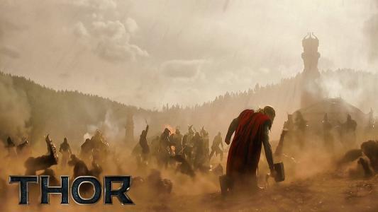 托尔黑暗的世界:英雄来战斗