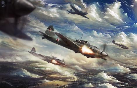 军用飞机IL-2