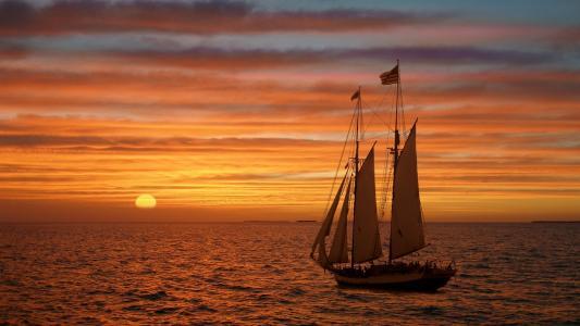 帆船旗子美国