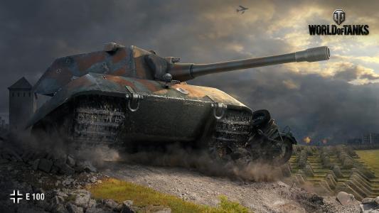 坦克E 100从坦克游戏世界