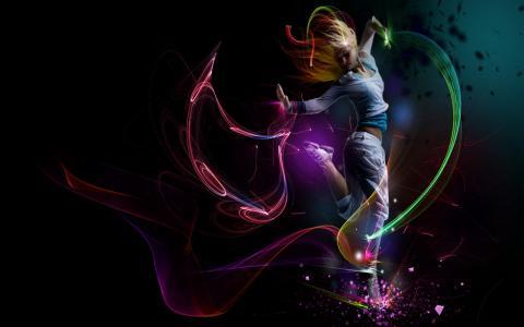 在光线之中跳舞
