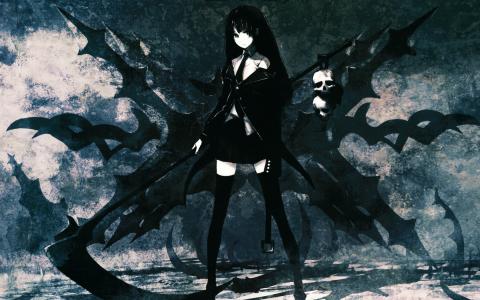 黑色动漫恶魔