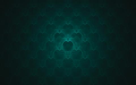绿色的抽象背景