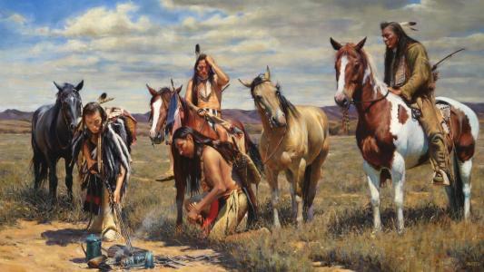 美国的土着人民