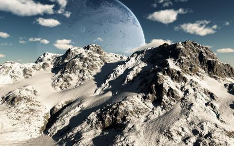行星在山上