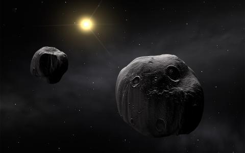巨大的小行星