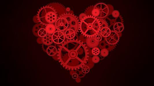 齿轮形的心脏