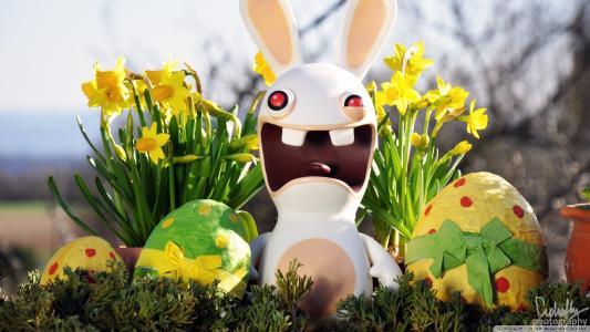 复活节兔子,游戏Rayman Raving Rabbids
