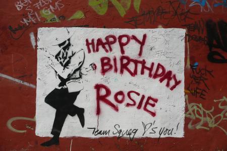 涂鸦,生日快乐,罗西