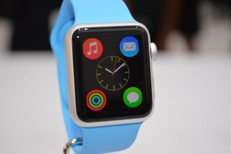蓝色的苹果设计