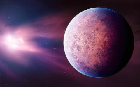 太阳系的紫色星球
