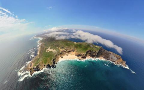 海洋中的岛屿