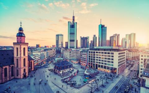 德国法兰克福市