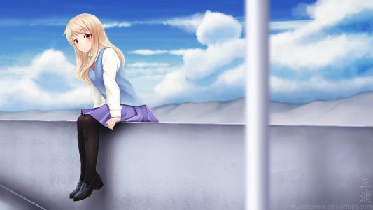 Sakuraso的女孩Mashiro新浪动漫Kitty
