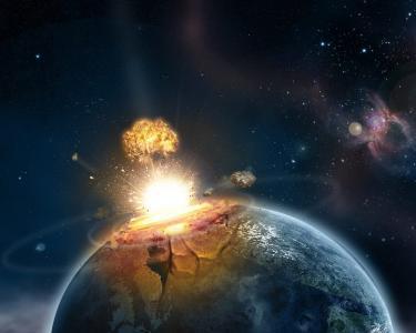 这个星球上的爆炸