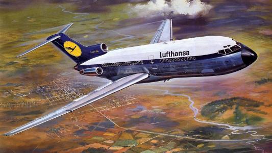 汉莎航空波音727班轮