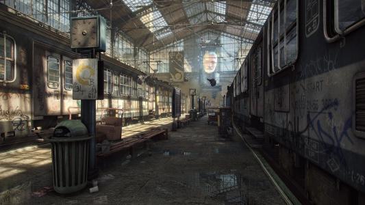 游戏中虚幻引擎4的建筑内部