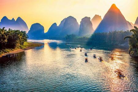 桂林丽江美丽的风景