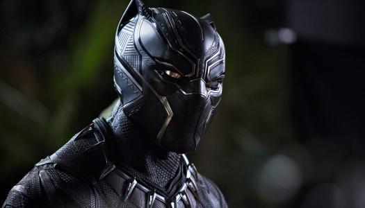 """新科幻电影""""黑豹""""(Black Panther)的主角,2018年"""