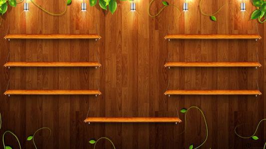 木制的架子