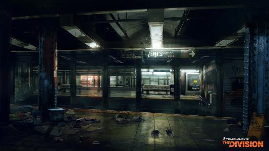 地铁站在游戏中的汤姆·克兰西的师