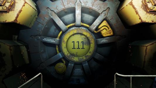 进入游戏辐射4的舱口
