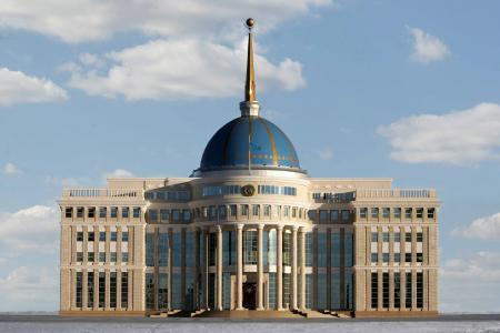 Akorda  - 哈萨克斯坦共和国总统的住所,阿斯塔纳市