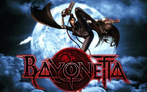 海报电子游戏Bayonetta