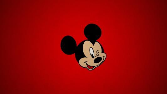 米老鼠眨眨眼